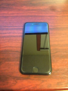 iPhone 7 128gb jetblack UNLOCKED NEW, BARLEY USED
