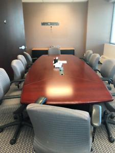 Office Furniture for Sale!!! Desks, filing cabinets, board room