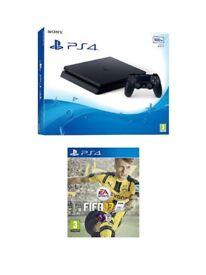 PS4 SLIM 500GB + 6 GAMES