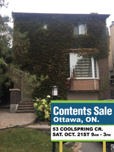 Estate Content Sale Sat. Oct. 21 Leaving Everything Must Go