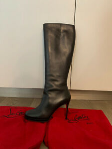 Louboutin Knee-High Boots - 37.5 - **MINT CONDITION**