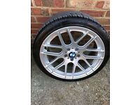 4x19 inch BMW alloys