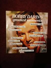Bobby Darin 12in Vinyl Album.