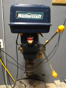 "Mastercraft 13"" drill press..."