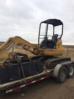 JD 35 ZTS excavator-first $12 000 takes it!