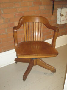 Vintage Krug Swivel Office Chair