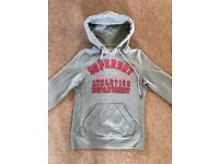 Ladies/ Girls Grey Superdry Hoodie XS