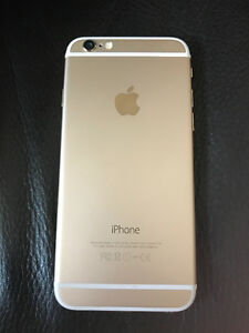 Iphone 6 GOLD perfect condition $300 OBO