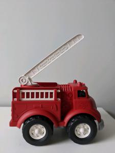 Green toys fire dept fire truck
