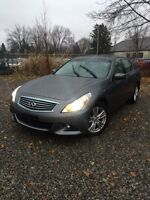 2012 Infiniti G37x - with only 30,000 km ! Spotless, must see!