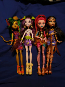 Open Lot: Monster High & Ever After