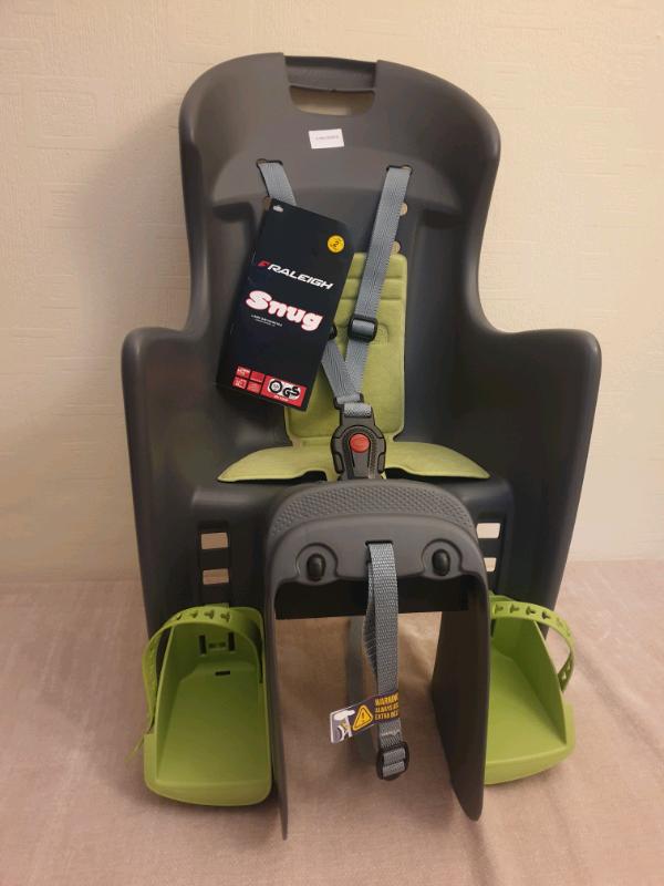 Raleigh Avenir Snug Carrier Fitting Child seat Green//Grey
