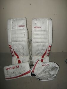 Int Goalie set (Pads, Catcher & Blocker)