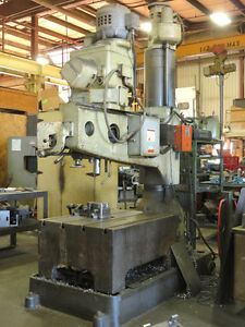 K & W E24 Radial Drilling Machine - $2600 LOWEST PRICE YET Kawartha Lakes Peterborough Area image 2
