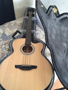 Mint Condition Takamine G Series EG512C Acoustic Electric Bass