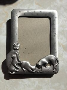 Pewter Picture Frames from  Seagull Pewters NS