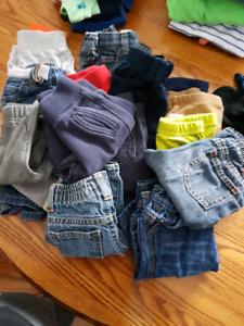 Huge lot 0-3 months clothes