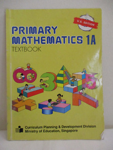 Singapore Math 1A (US ed) and 1B (Standards) Textbooks