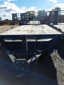 Heavy duty custom equipment trailer