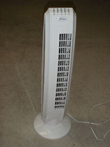 Ventilateur en tour / Tower fan