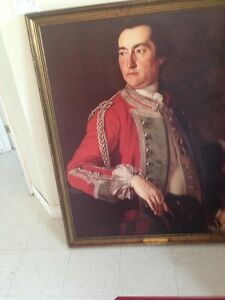 Antique Portrait of Governor General Conrwallis for SALe