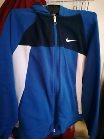 Blue Nike tracksuit for 13/15 yrs. Very good condition