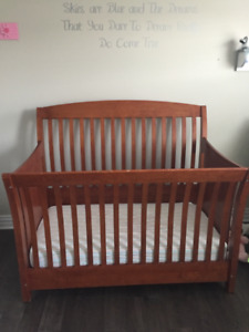 Crib & Change Table