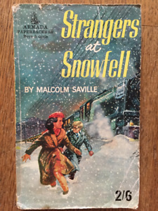 Strangers at Snowfell by Malcolm Saville c1963 Armada Paperback