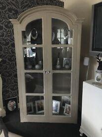 French amoire shabby chic Wardobe / display cabinet B on Avon £250 Ono