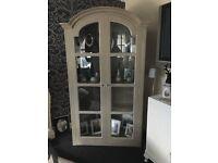 French amoire shabby chic Wardobe / display cabinet B on Avon £250