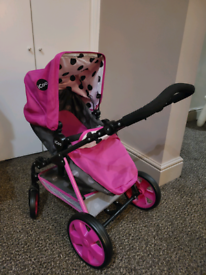 iCoo 3 in 1 Doll stroller