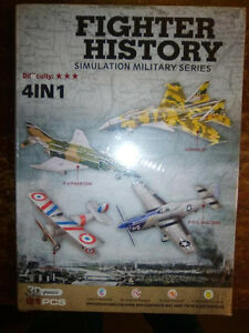 3D Puzzles - FIGHTER HISTORY (4 fighter planes) - BRAND NEW! London Ontario image 1