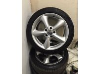 Mercedes c220 cdi 2007 alloys and tyres