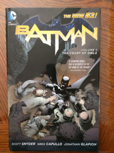 New 52 Batman Volume 1 : Court of Owls