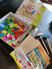 Children's Hammer and Nail game
