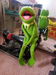Vintage Kermit the Frog with velcro