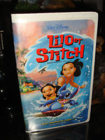 VHS-WALT DISNEY-LILO ET STITCH-FILM/MOVIE