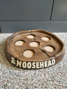 Moosehead beer tray. Wood design