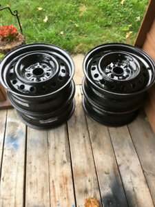 Four Steel Rims For Sale