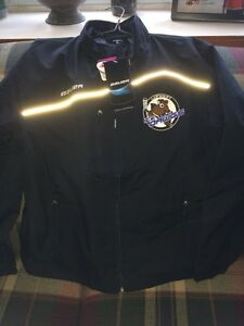Brand new Bauer ice dawgs jacket