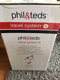 Phil & Teds TS4 adaptor for Maxi-Cosi