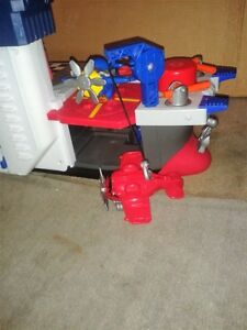 """""""Imaginext """" ship , planes and 2 people ! Windsor Region Ontario image 5"""