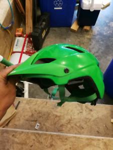 Small giro feature bike helmet.