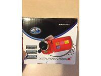 Digital video camera 12 Meg red