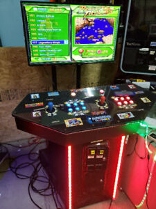 999 Arcade Games in one Arcade stand coin op or FREE PLAY