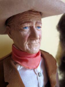 1981 -1982 Vintage doll - JOHN WAYNE - poupée