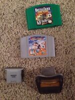 N64. Gameboy and GameCube stuff.