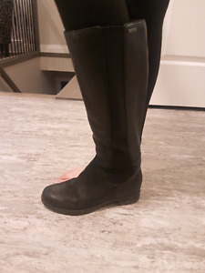 BLACK Rockport Boots Size 6