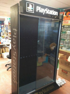 Original Playstation and XBOX cabinet