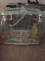 bird cage with pedestal-pending
